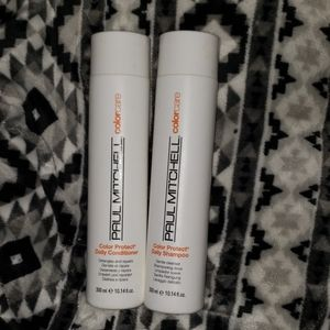 Paul Mitchell color shampoo and conditioner